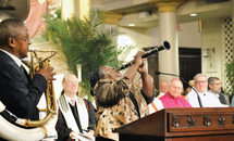 Interfaith prayer service highlights city's history