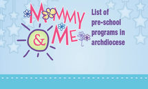 List of pre-school programs in archdiocese