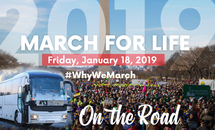 Ministering on the way to the March for Life