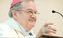 Bishop Morin, 78: An unwavering voice for the poor