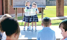 Outdoor classroom at St. Margaret Mary a breath of fresh air