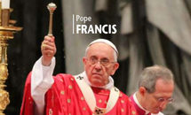Pope expresses concern about 'spiral of violence'