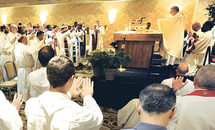 200 priests gather for prayer, bioethics studies