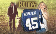 'Rudy' Ruettiger aims to 'shake down thunder' for youth