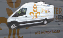 Second Harvest's new Ford van strengthens service