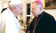 Talking to Pope Francis is like talking to a brother