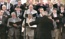 Old voices reunite for Brother Martin concert