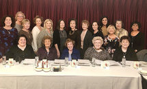 Past presidents of Council of Catholic School Cooperative Clubs met for annual reunion lunch