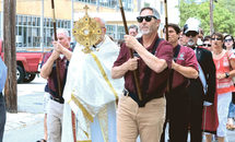 Eucharistic processions on the Feast of Corpus Christi