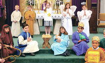 St. Edward The Confessor Third Graders Prep For Living Nativity