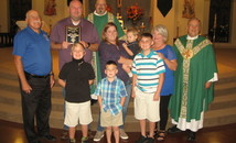 Ascension of Our Lord Knights in LaPlace names family of the year