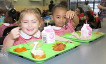 Archdiocesan cafeterias provide free meals to students at participating schools