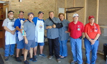 Ascension's Knights place first at diocesan gumbo contest