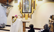 Healing chapel at St. Anthony of Padua, Luling, honors Mary