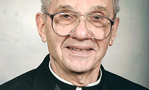 Father Montalbano had passion for God's word