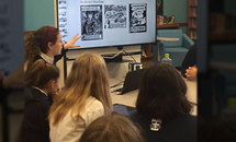 Ursuline students collaborate on Holocaust project