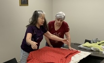 St. Benedict's prayer blanket ministry adjusts to serve local need