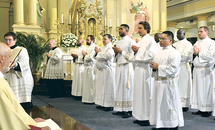 New deacons urged to be ministers of Christ's charity