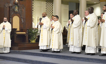 Archbishop Aymond to deacons: Be men of prayer and charity