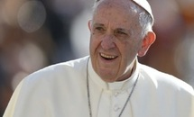 Love the church, care for society, pope says