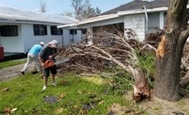 St. Francis Xavier parishioners whip out chainsaws, wallets