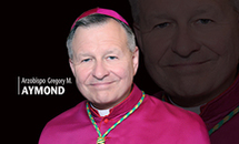 Archbishop Aymond urges respect for 'the dignity of all human life'