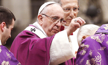 COVID prompts changes for Ash Wednesday