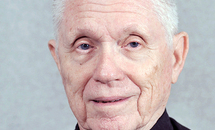 Jesuit Father Bert Mead, 91