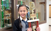 St. Edward the Confessor School produces its second national penmanship champ