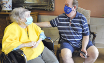 Joy, touch are back for seniors in post-vaccine world