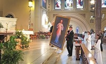 Churches set Divine Mercy schedules