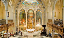 St. Patrick's Church on Camp Street: A marvel of sacred architecture
