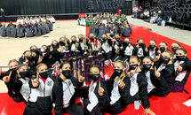 St. Mary's Dominican Debs dance team places first in state competition