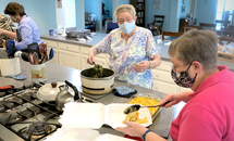 Local Sisters of Charity prepare food for the soul