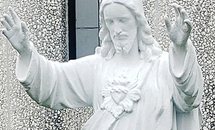 Vandalized Sacred Heart of Jesus statue gets new lease on life
