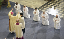 Five men ordained to the transitional diaconate