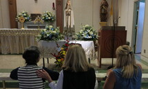 Pilgrim statue of Our Lady of Fatima winds down its tour of New Orleans-area churches
