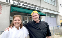 'Cooking like a mom' resonates with chefs to homeless