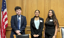 Students get hands-on insight into state lawmaking