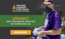 Second Harvest Food Bank: Best help now is a financial contribution