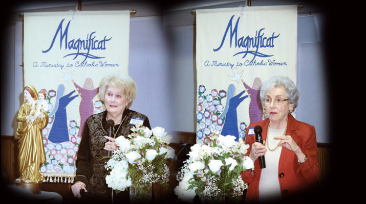 Magnificat: A seed planted 37 years ago flowering