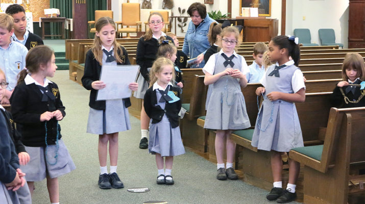 St. Edward's afterschool rosary group invites children to deepen faith