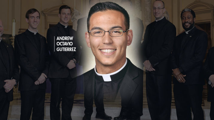 Ordinands share the stories behind their chalices: Andrew Octavio Gutierrez