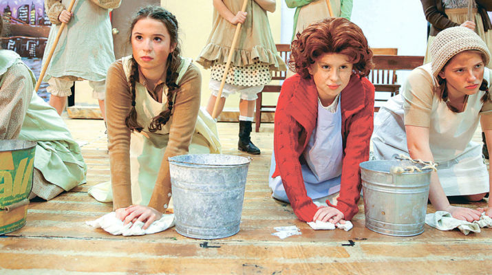 'The sun'll come out' on 'Annie' at Mount Carmel