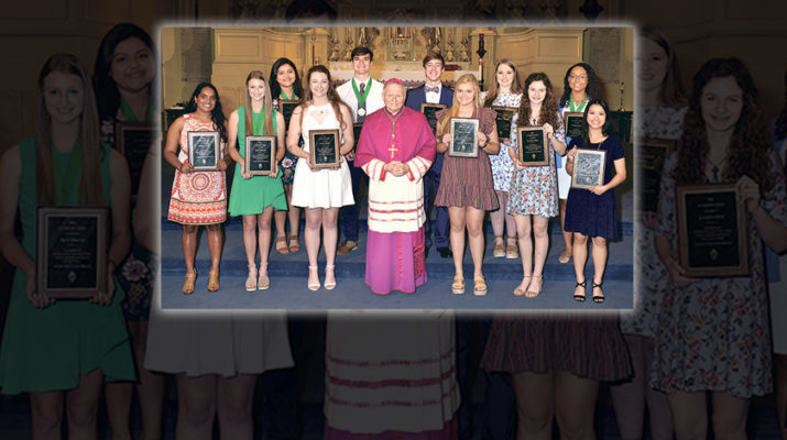 St. Timothy Award presented to 13 teen leaders