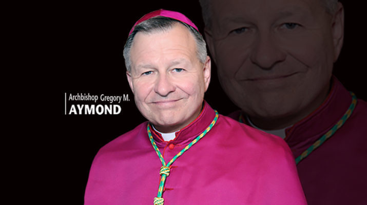 Abp. Aymond: All Our gifts are from God, so be humble!