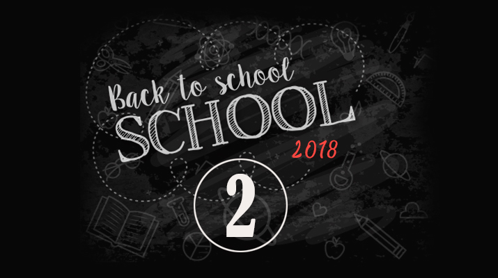 Back To School 2 Section – 2018