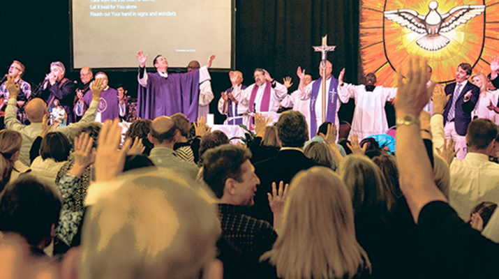 Power of Holy Spirit at charismatic conference