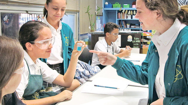 Cabrini 'Science' Squad inspires younger scientists