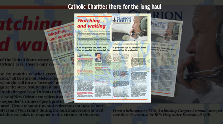 Watching and waiting: Catholic Charities there for the long haul